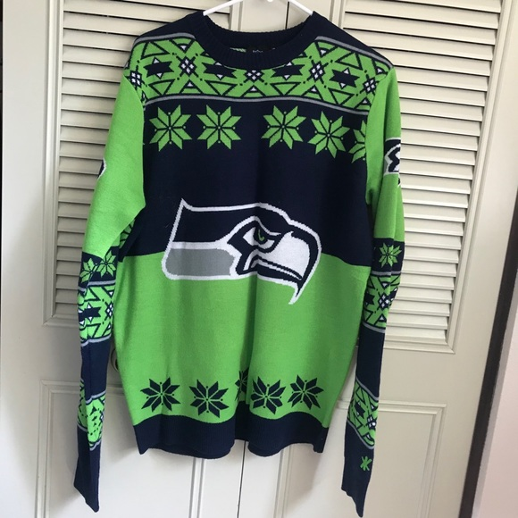 seahawks christmas sweater - Seahawks Christmas Sweater